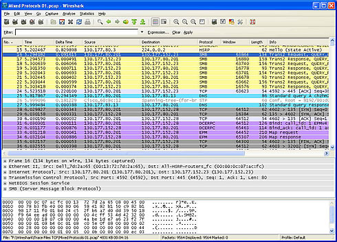 Wireshark Software - Leutert NetServices